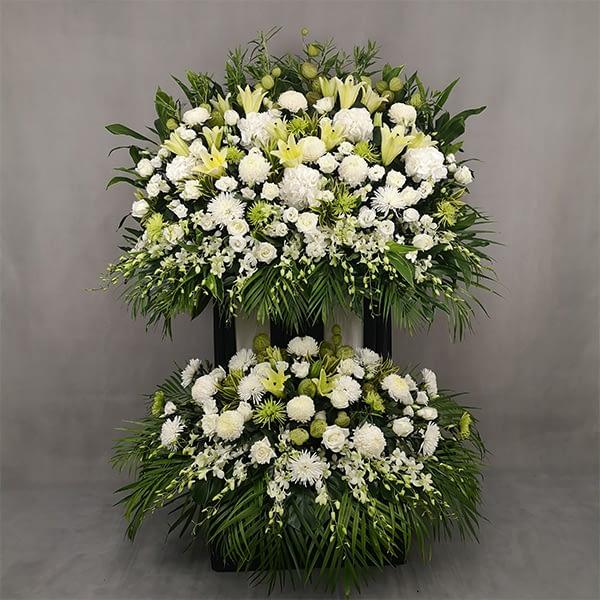 premium condolence stand