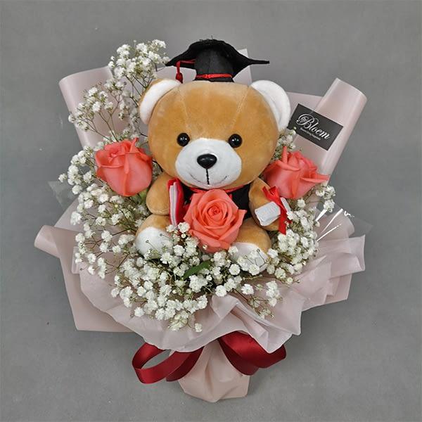 graduation flowers