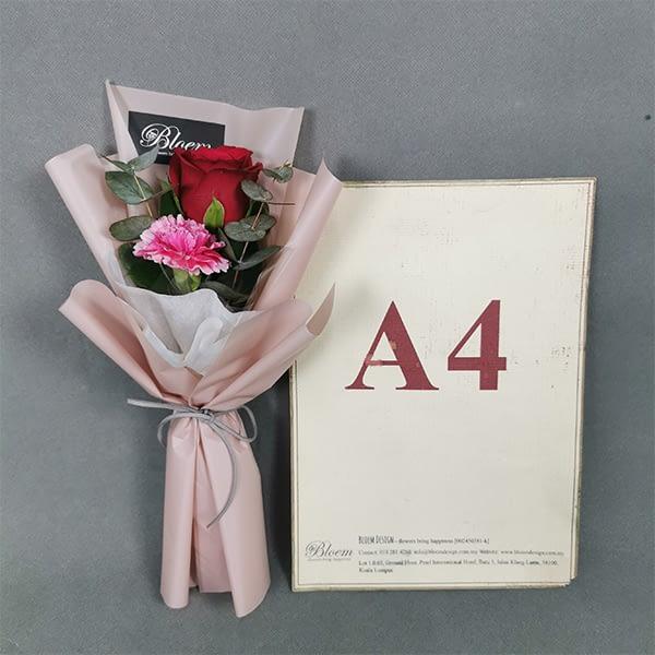 rose carnation bouquet