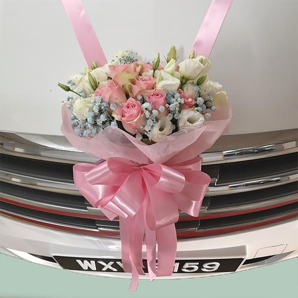 car deco for wedding