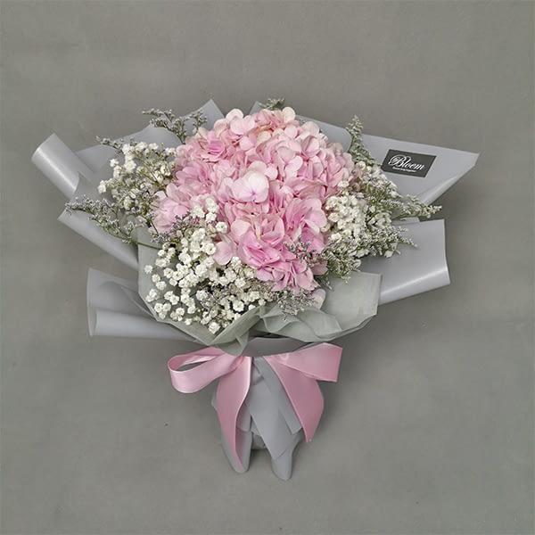 HB213 pink hydragea baby caspia RM150