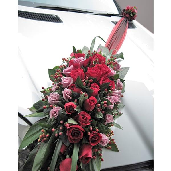 car decor for wedding