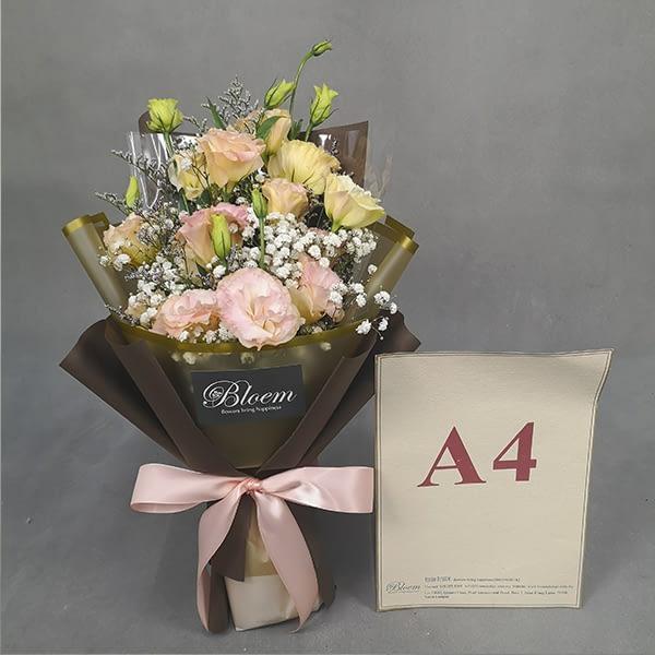 Eustoma bouquet