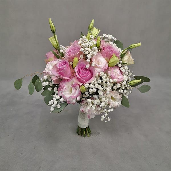Wedding Bouquet Eustoma