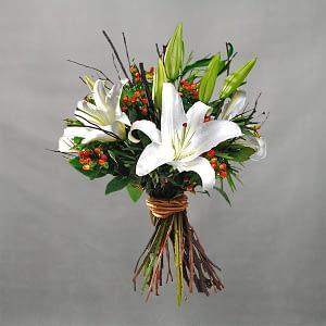 Wedding Bouquet Lily