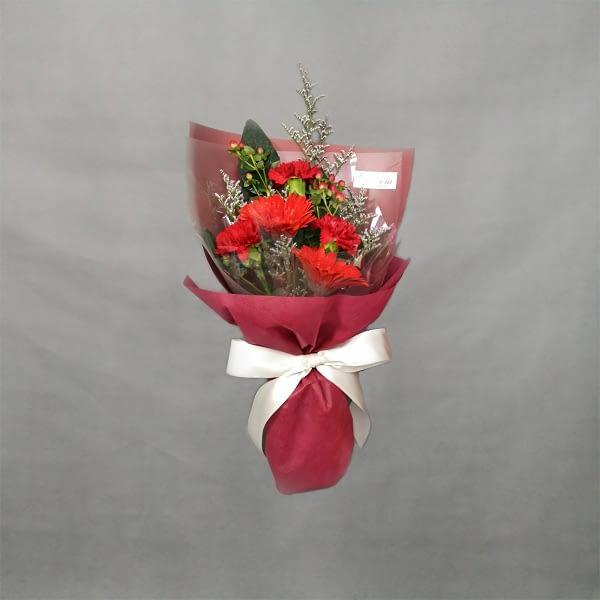 HB229 RM75 mix carnationsdaisycaspiaberries