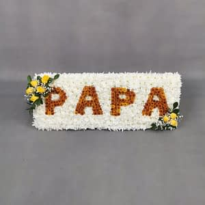 funeral flowers for father
